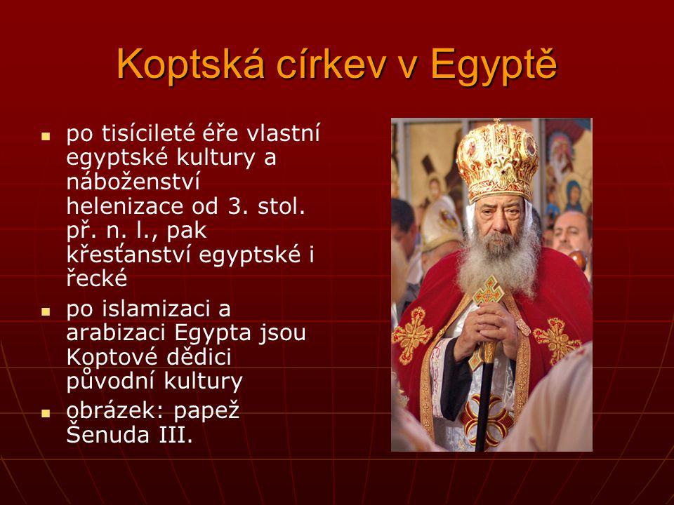 Koptská církev v Egyptě