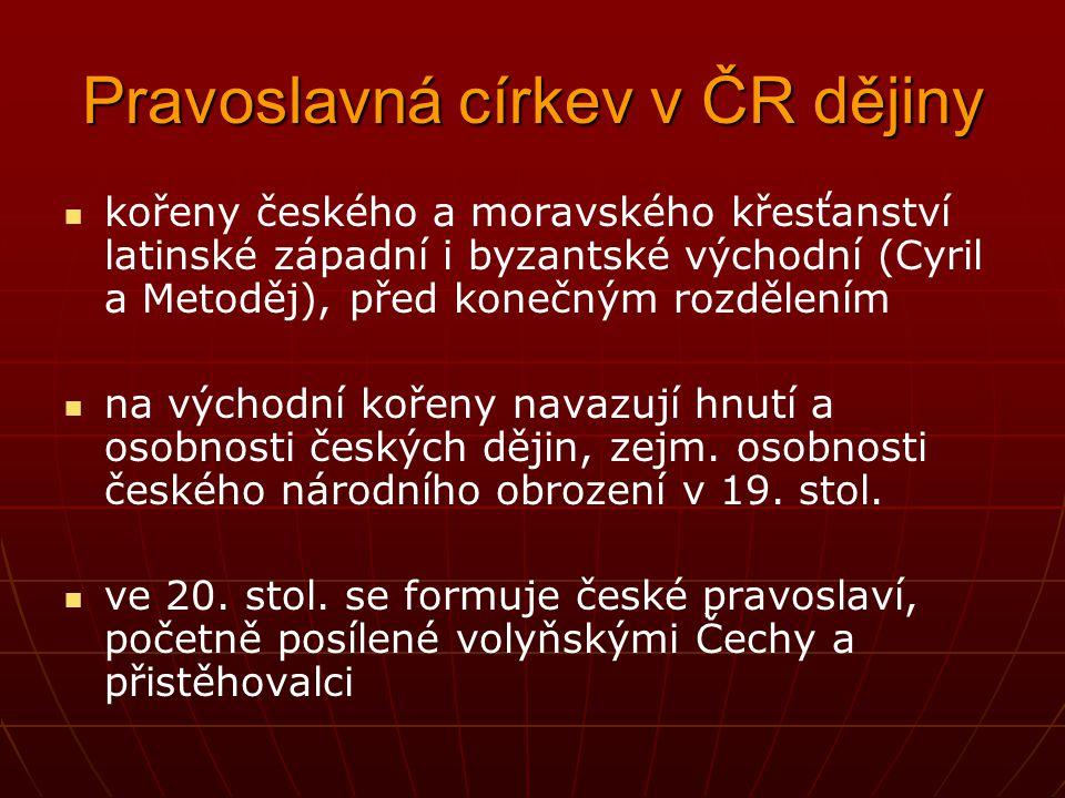 Pravoslavná církev v ČR dějiny
