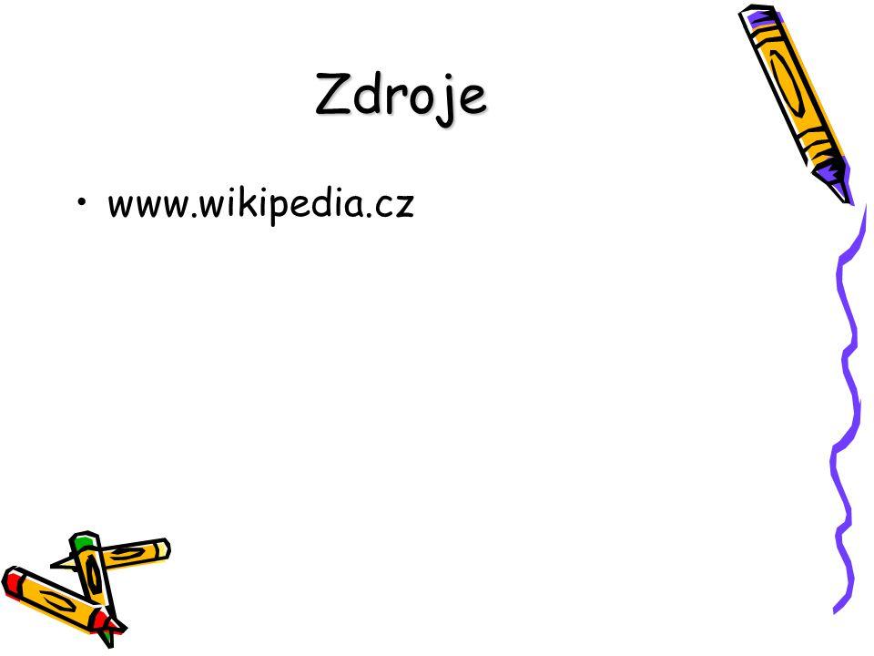 Zdroje www.wikipedia.cz