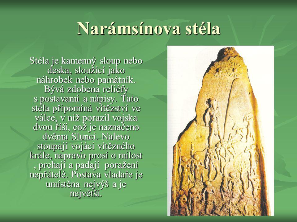 Narámsínova stéla