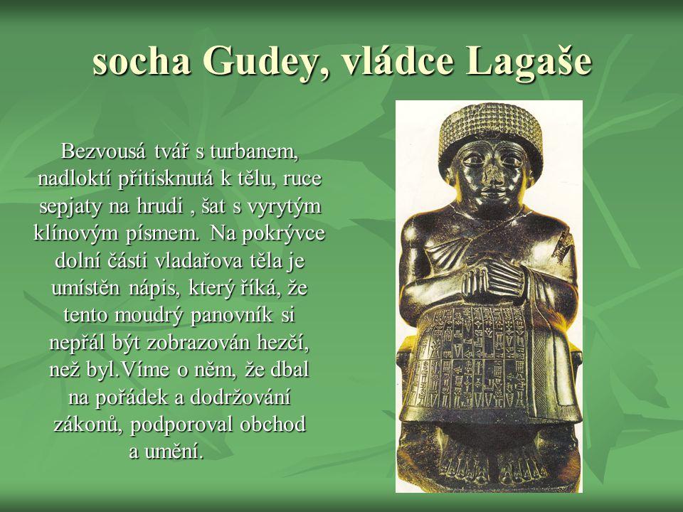 socha Gudey, vládce Lagaše