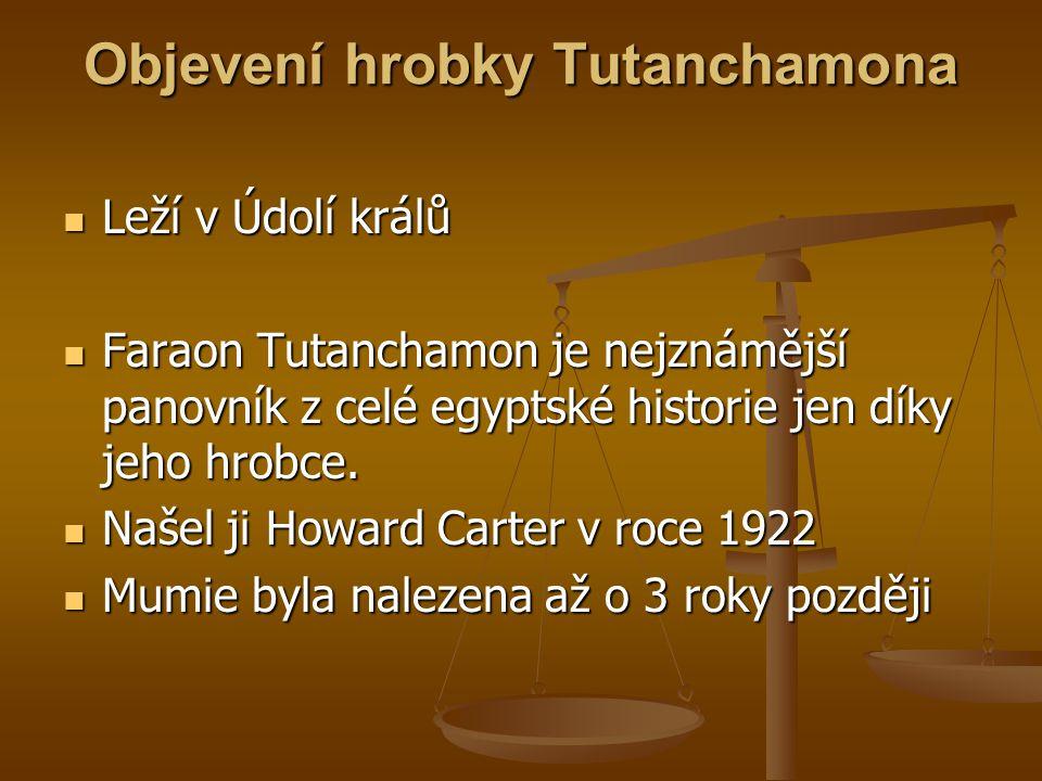 Objevení hrobky Tutanchamona