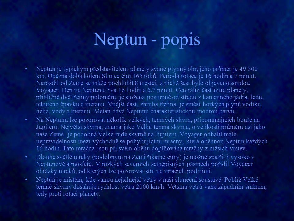 Neptun - popis