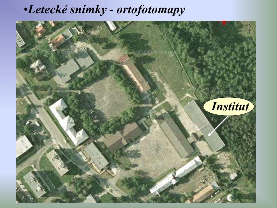 Letecké snímky - ortofotomapy