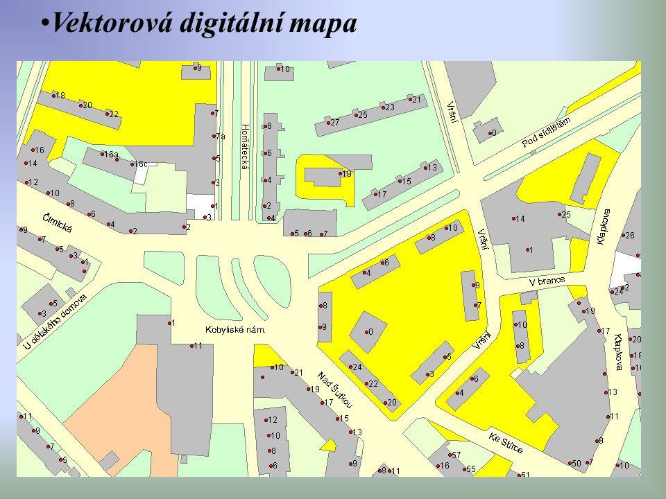 Vektorová digitální mapa