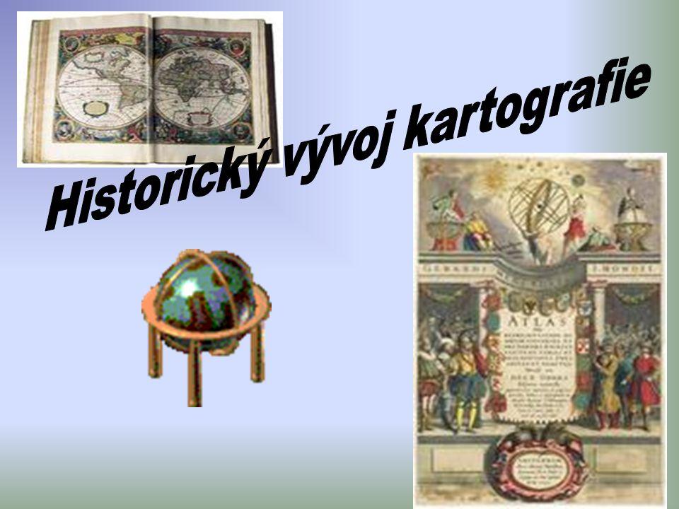 Historický vývoj kartografie