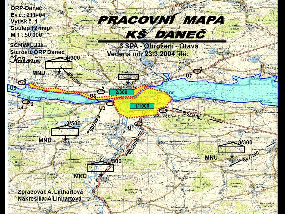 PRACOVNÍ MAPA KŠ DANEČ 3 SPA - Ohrožení - Otava