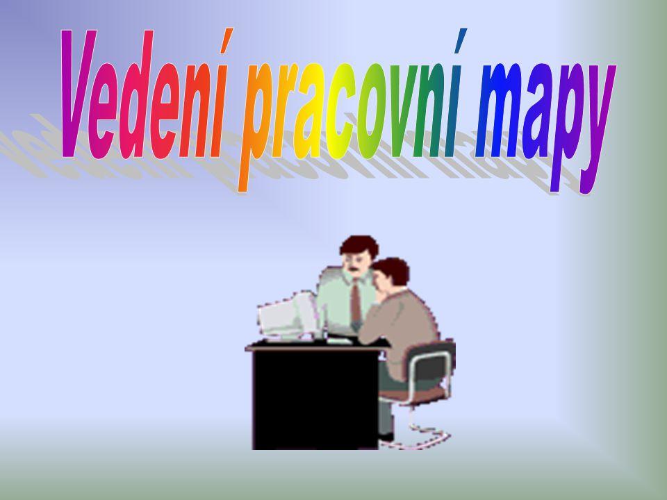 Vedení pracovní mapy