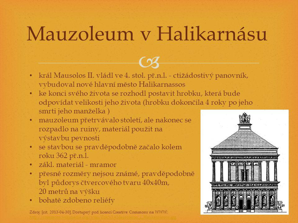 Mauzoleum v Halikarnásu