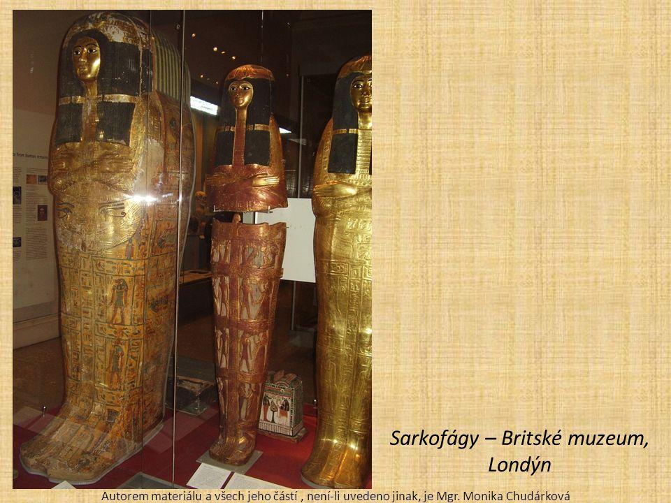 Sarkofágy – Britské muzeum, Londýn