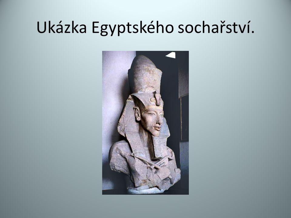 Ukázka Egyptského sochařství.