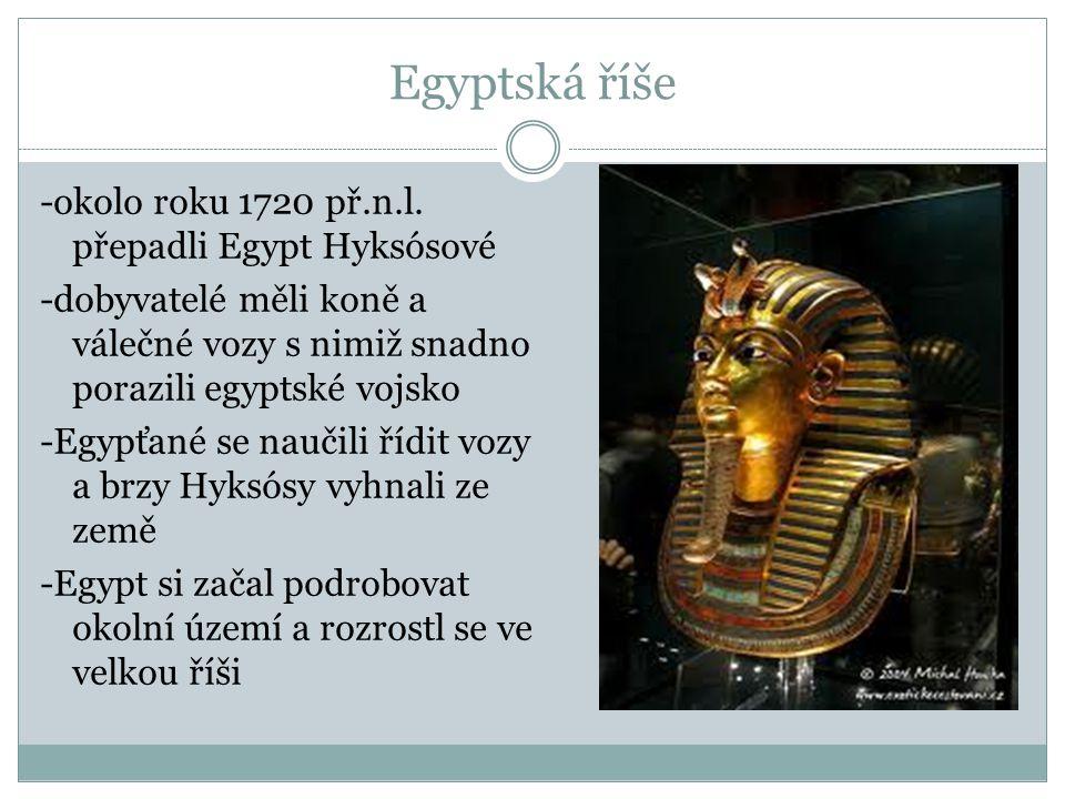 Egyptská říše