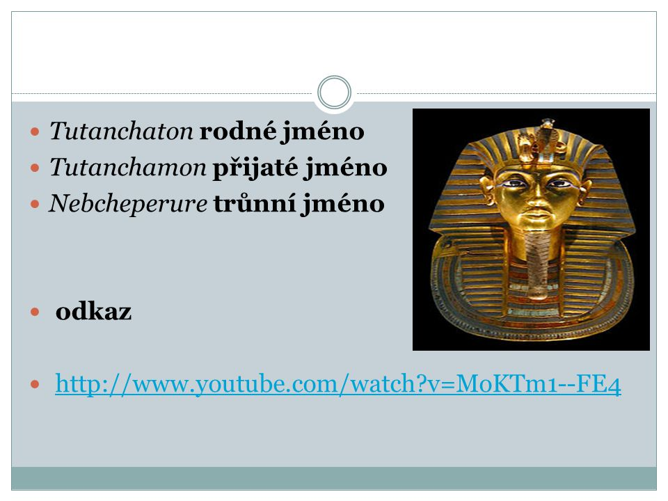 Tutanchaton rodné jméno