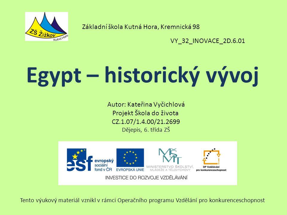 Egypt – historický vývoj