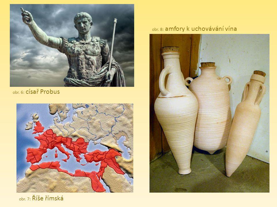 obr. 8: amfory k uchovávání vína