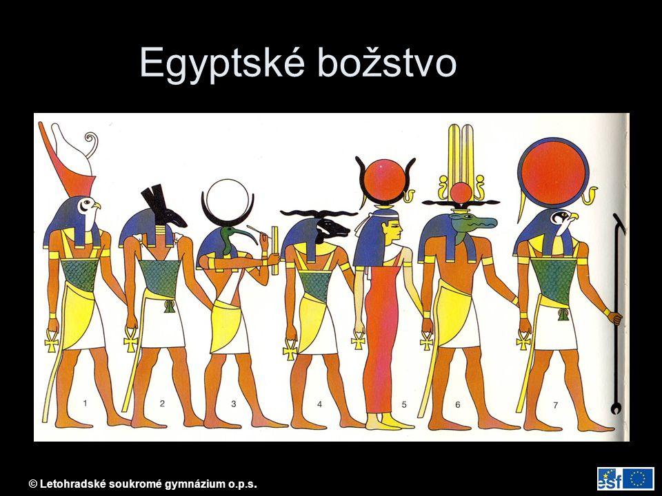 Egyptské božstvo