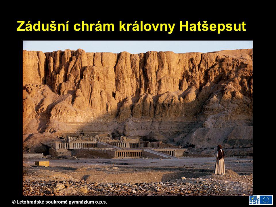 Zádušní chrám královny Hatšepsut