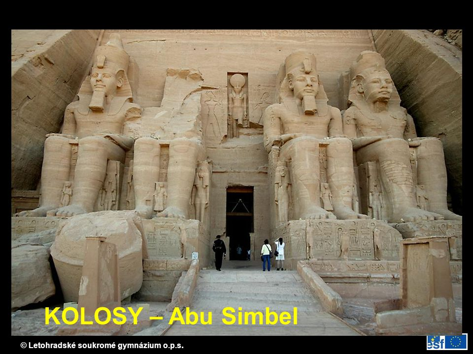 KOLOSY – Abu Simbel