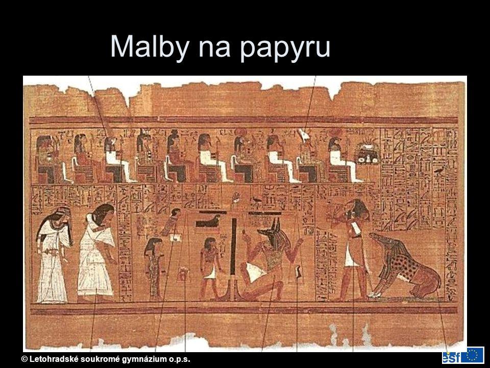 Malby na papyru