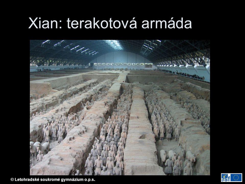 Xian: terakotová armáda