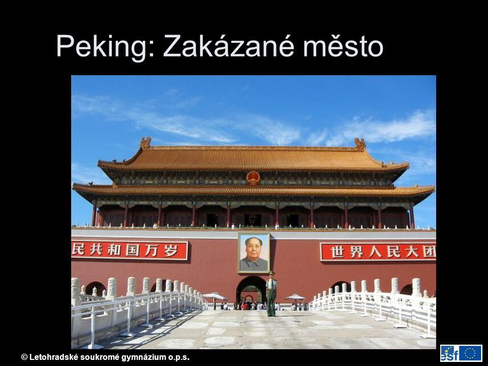 Peking: Zakázané město