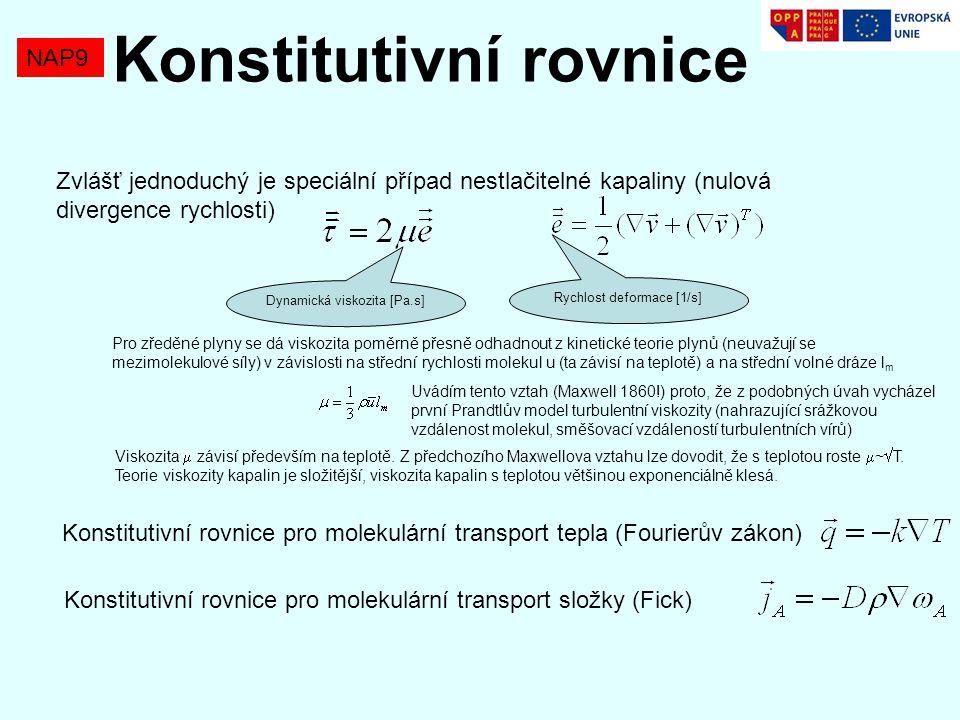 Konstitutivní rovnice