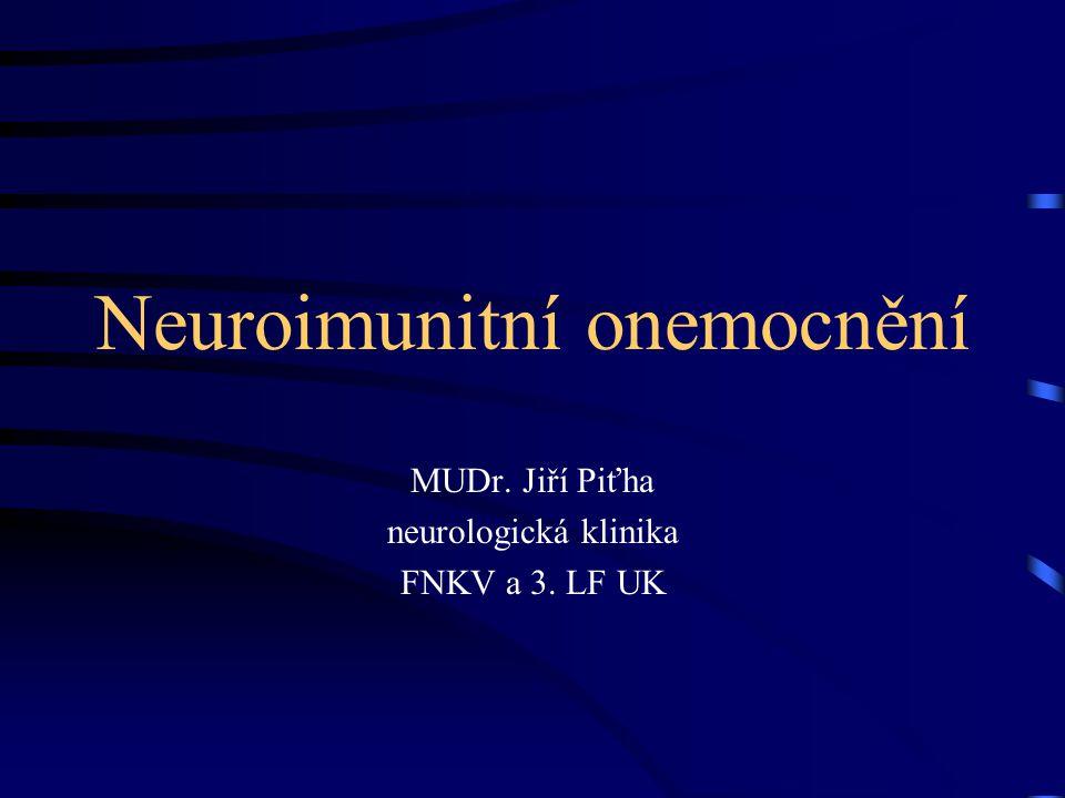 Neuroimunitní onemocnění