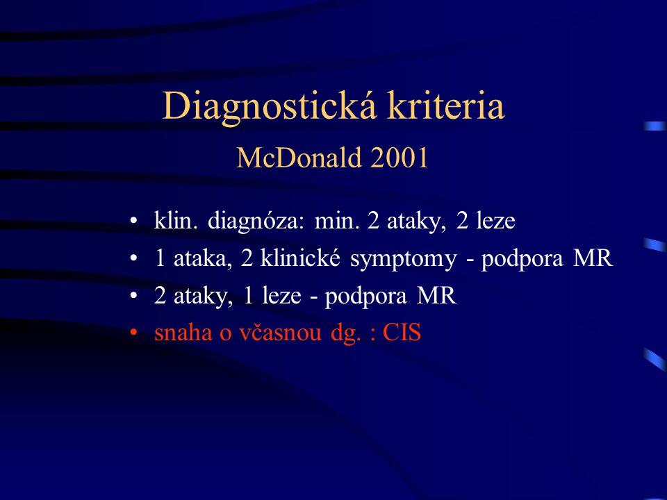Diagnostická kriteria McDonald 2001