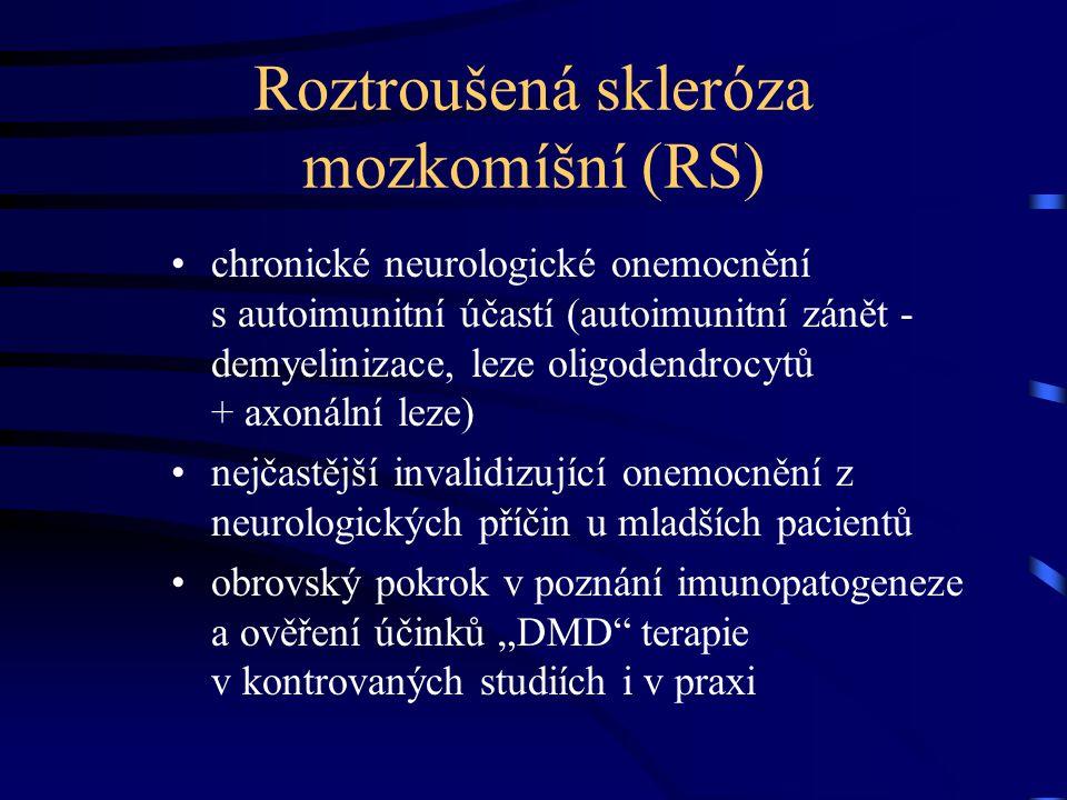 Roztroušená skleróza mozkomíšní (RS)