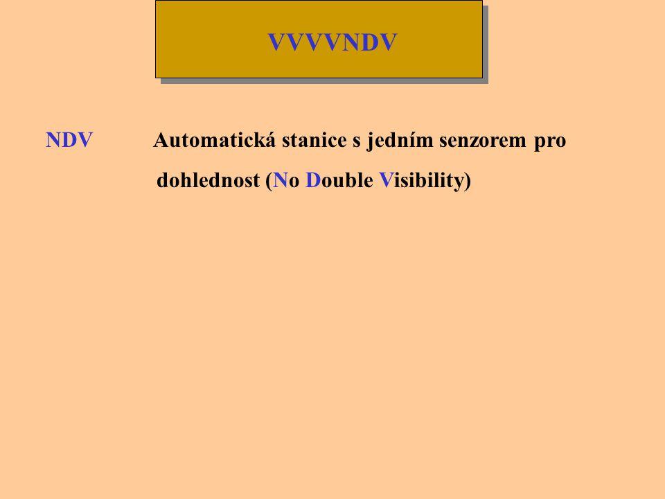 VVVVNDV NDV Automatická stanice s jedním senzorem pro