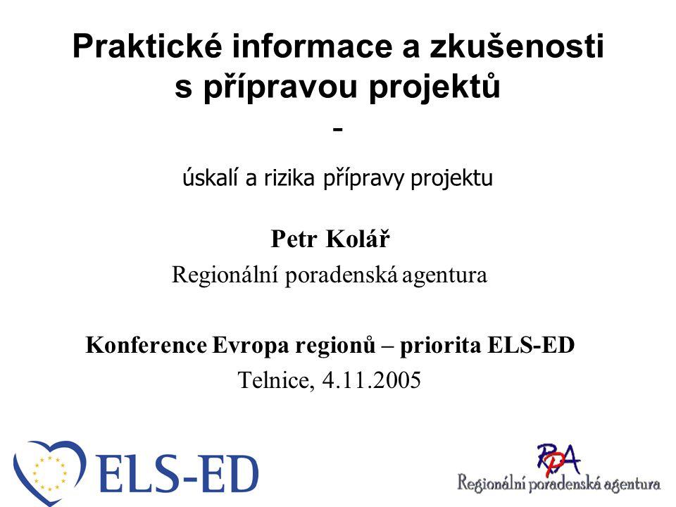 Konference Evropa regionů – priorita ELS-ED