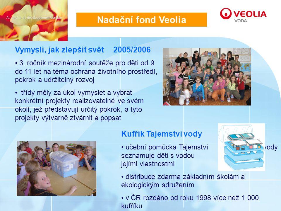 Nadační fond Veolia Vymysli, jak zlepšit svět 2005/2006