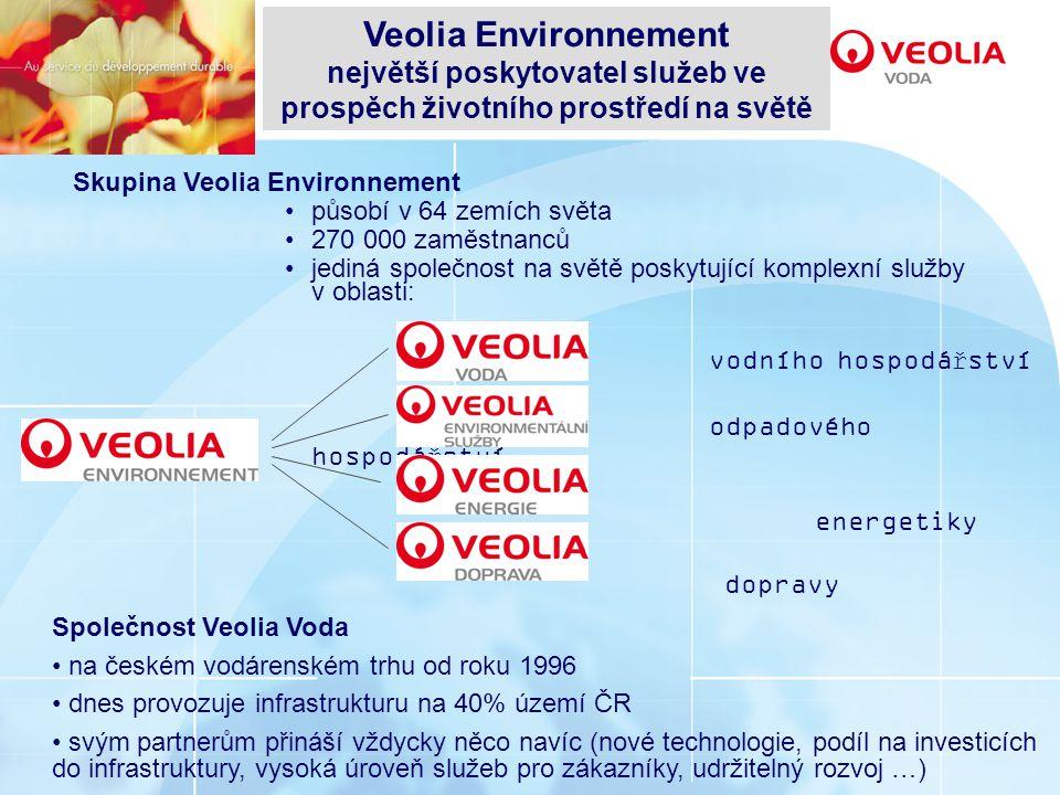 největší poskytovatel služeb ve prospěch životního prostředí na světě