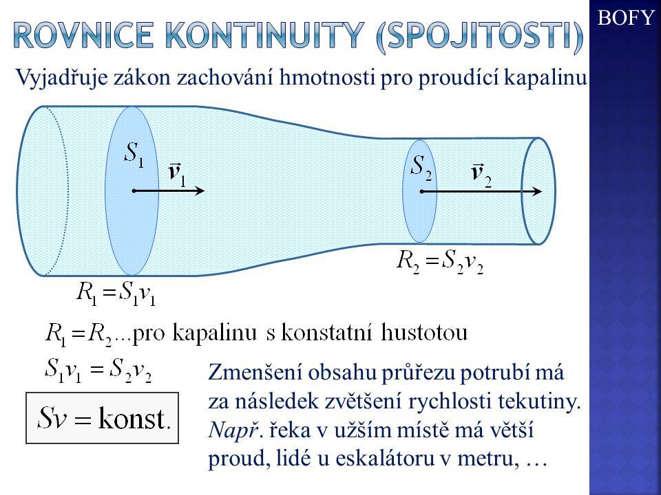 Rovnice kontinuity (spojitosti)