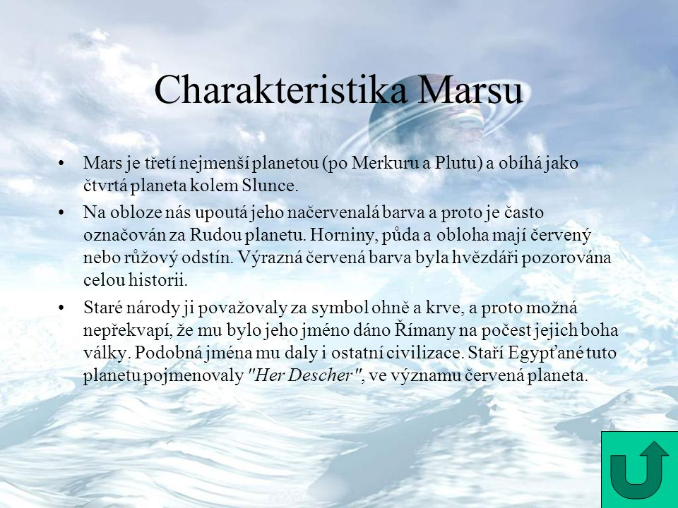 Charakteristika Marsu