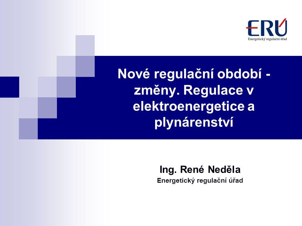 Ing. René Neděla Energetický regulační úřad