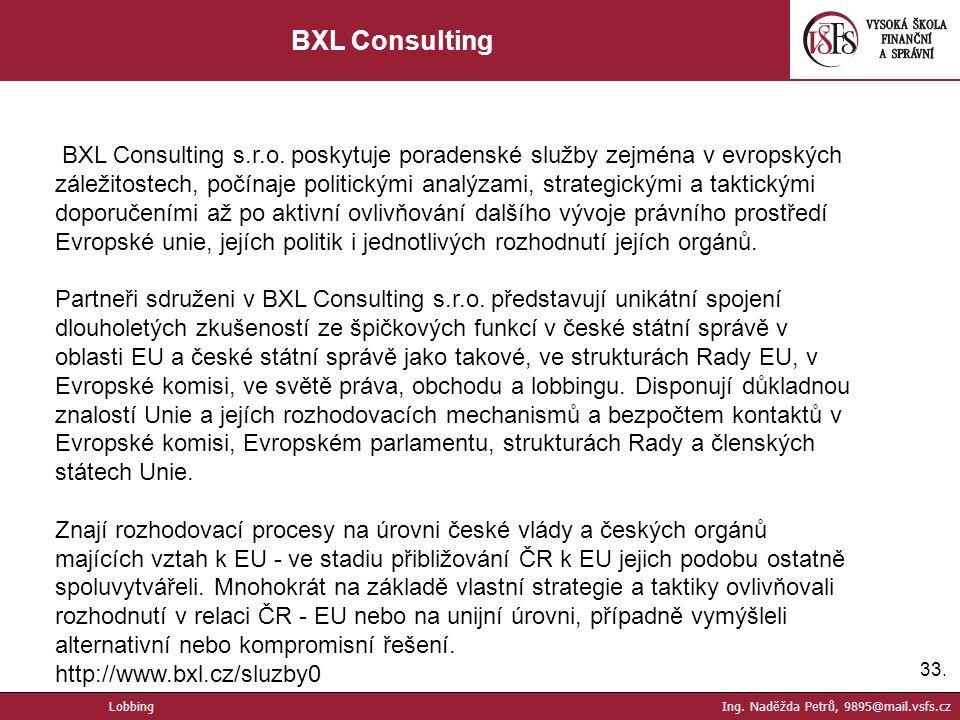 BXL Consulting