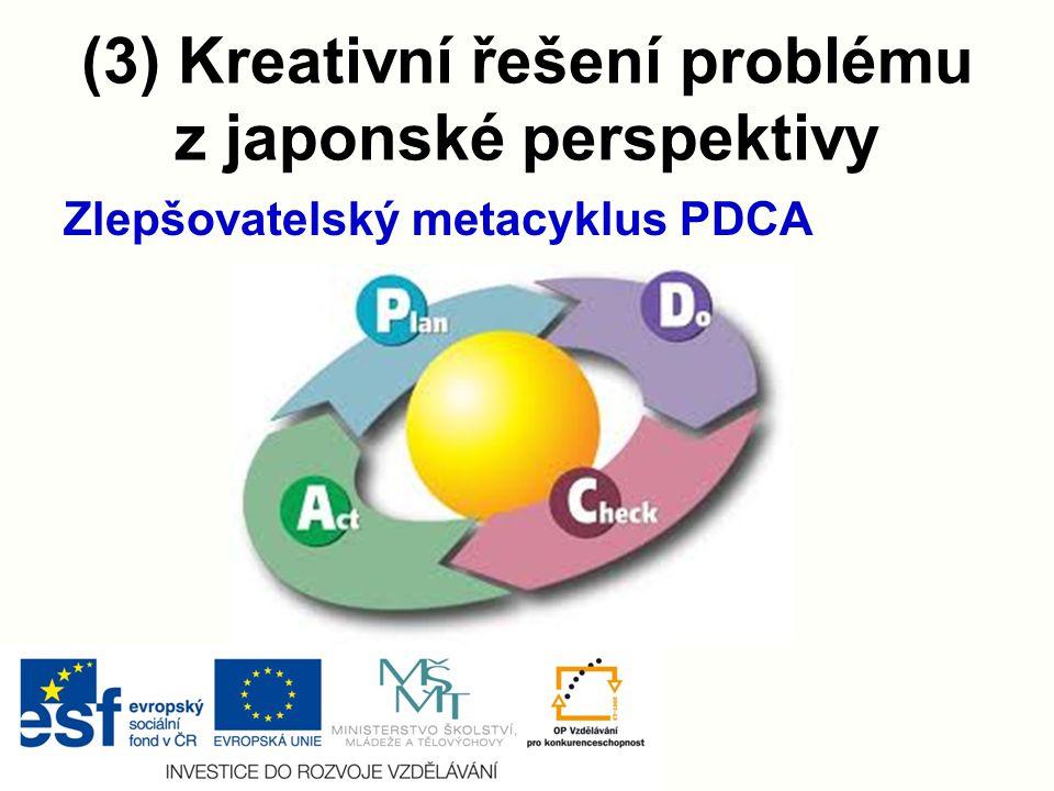 (3) Kreativní řešení problému z japonské perspektivy