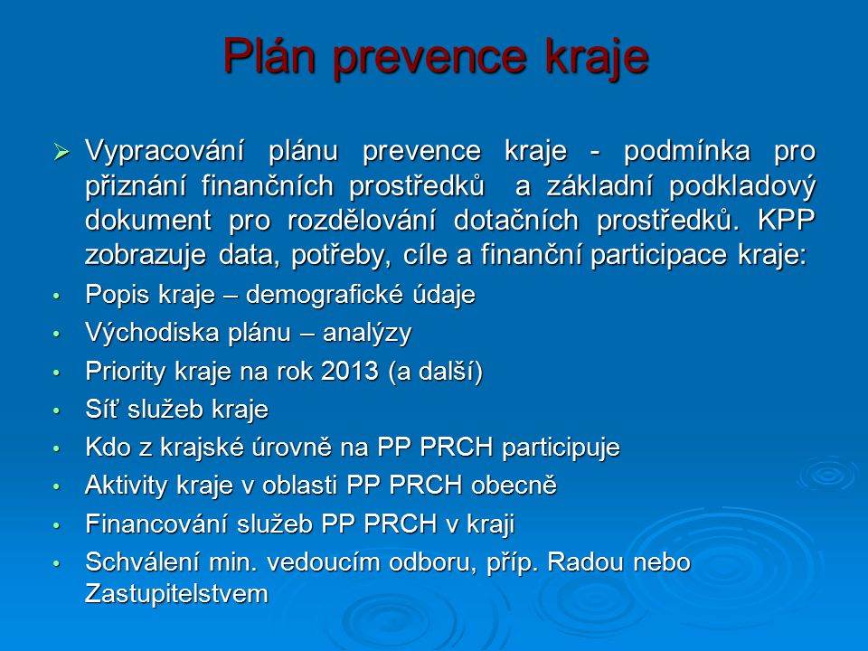 Plán prevence kraje