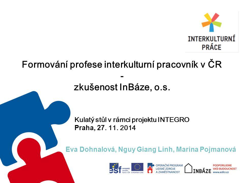 Formování profese interkulturní pracovník v ČR