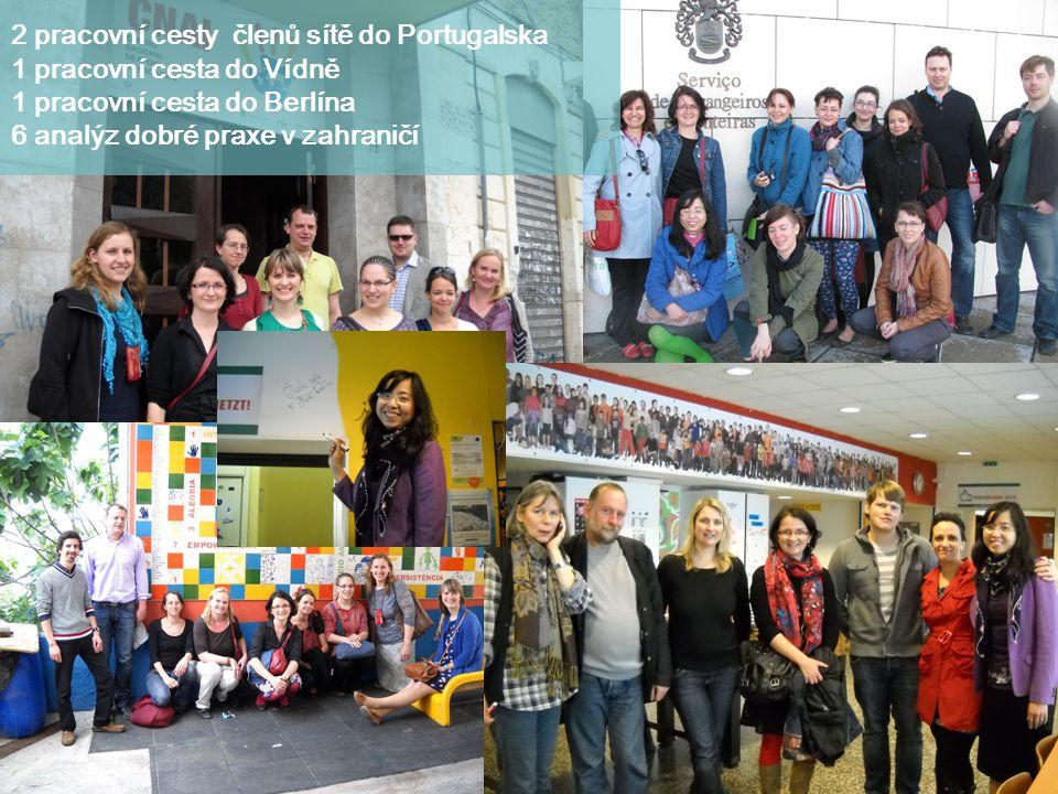 2 pracovní cesty členů sítě do Portugalska
