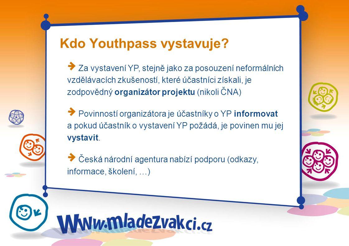 Kdo Youthpass vystavuje