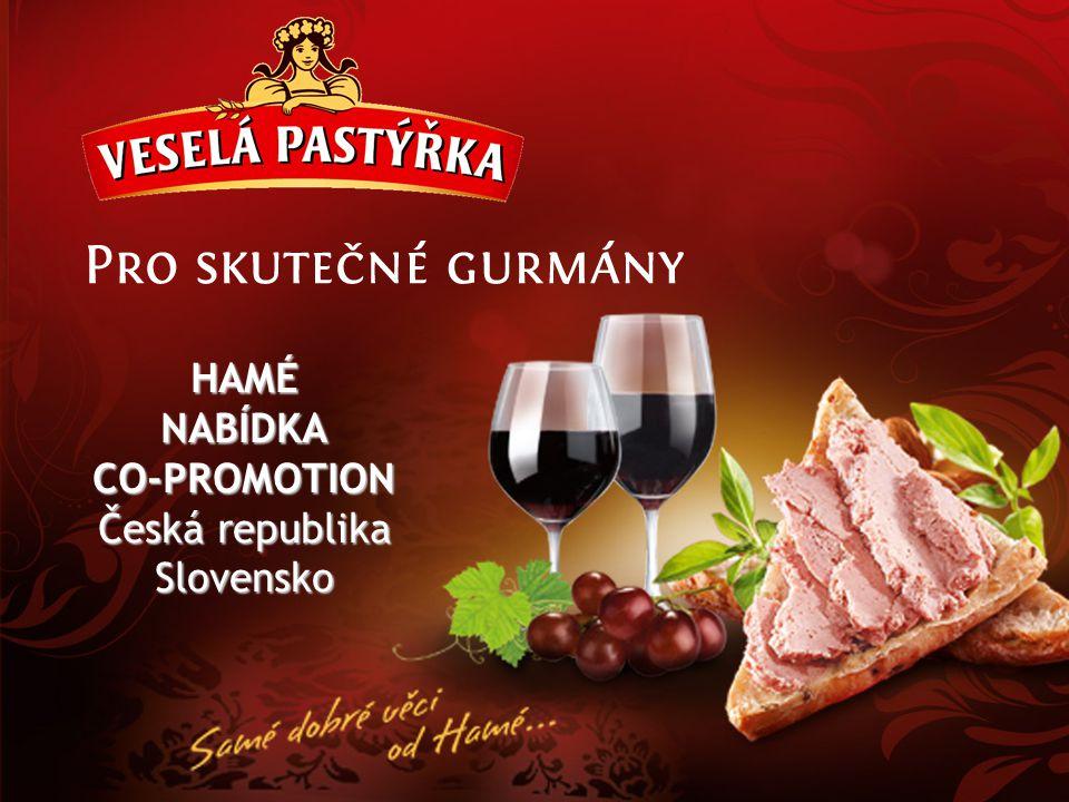HAMÉ NABÍDKA CO-PROMOTION Česká republika Slovensko