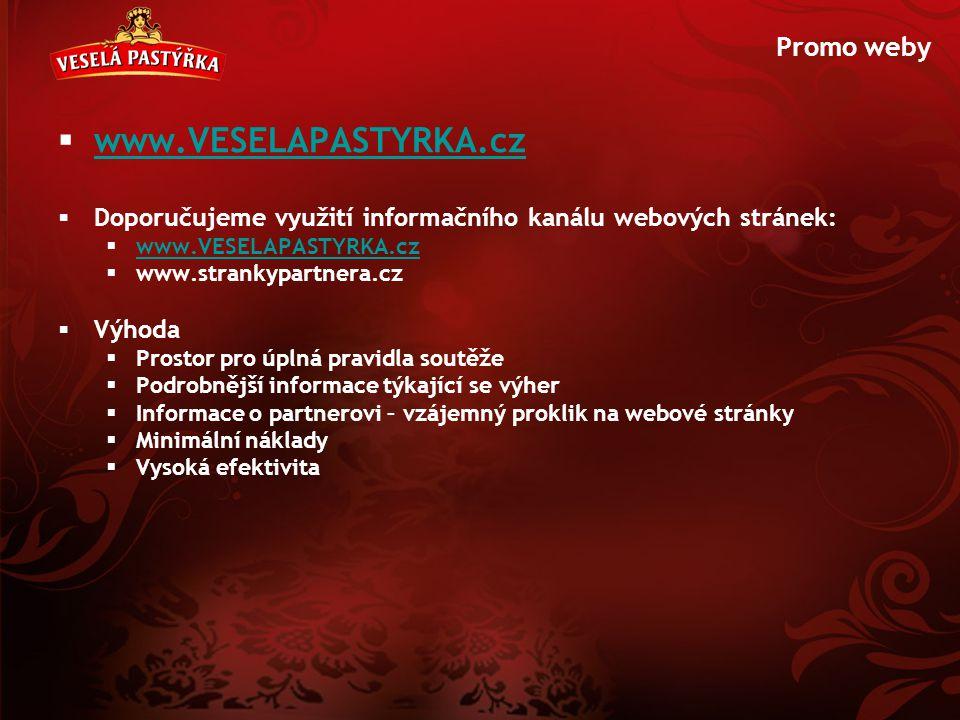 www.VESELAPASTYRKA.cz Promo weby