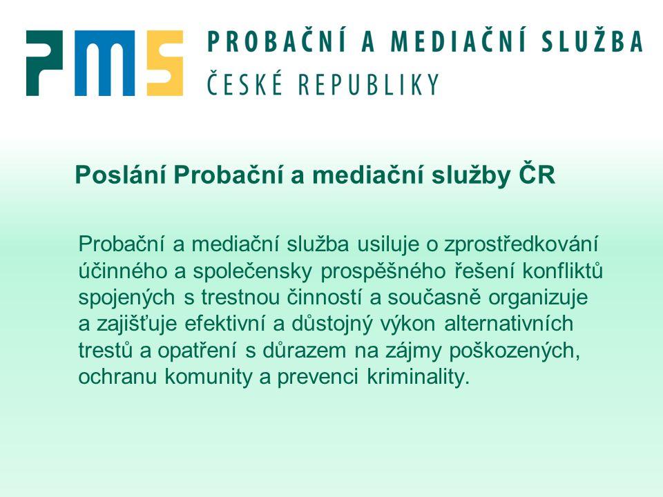 Poslání Probační a mediační služby ČR