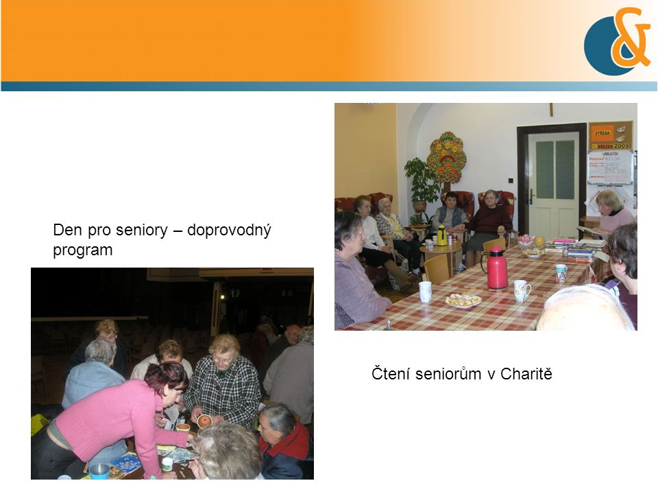 Den pro seniory – doprovodný program