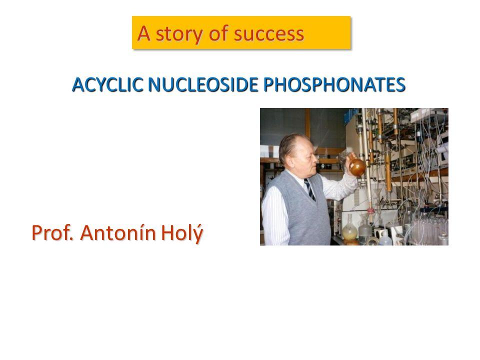 ACYCLIC NUCLEOSIDE PHOSPHONATES