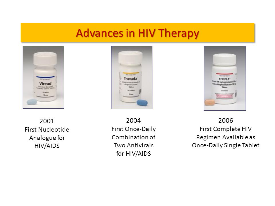 Advances in HIV Therapy