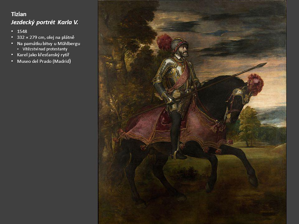 Jezdecký portrét Karla V.