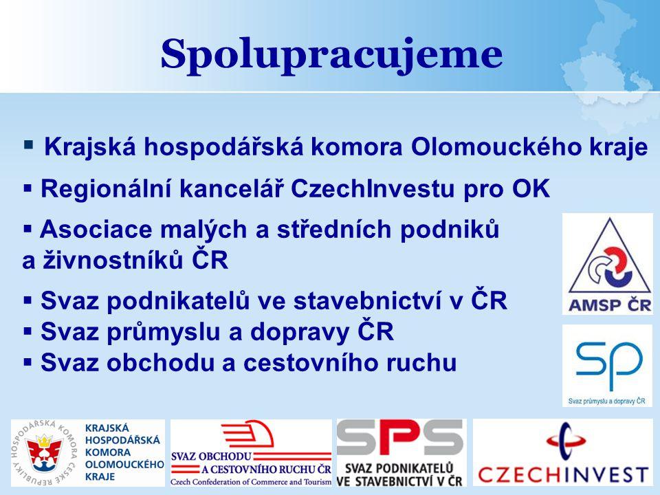 Spolupracujeme Krajská hospodářská komora Olomouckého kraje